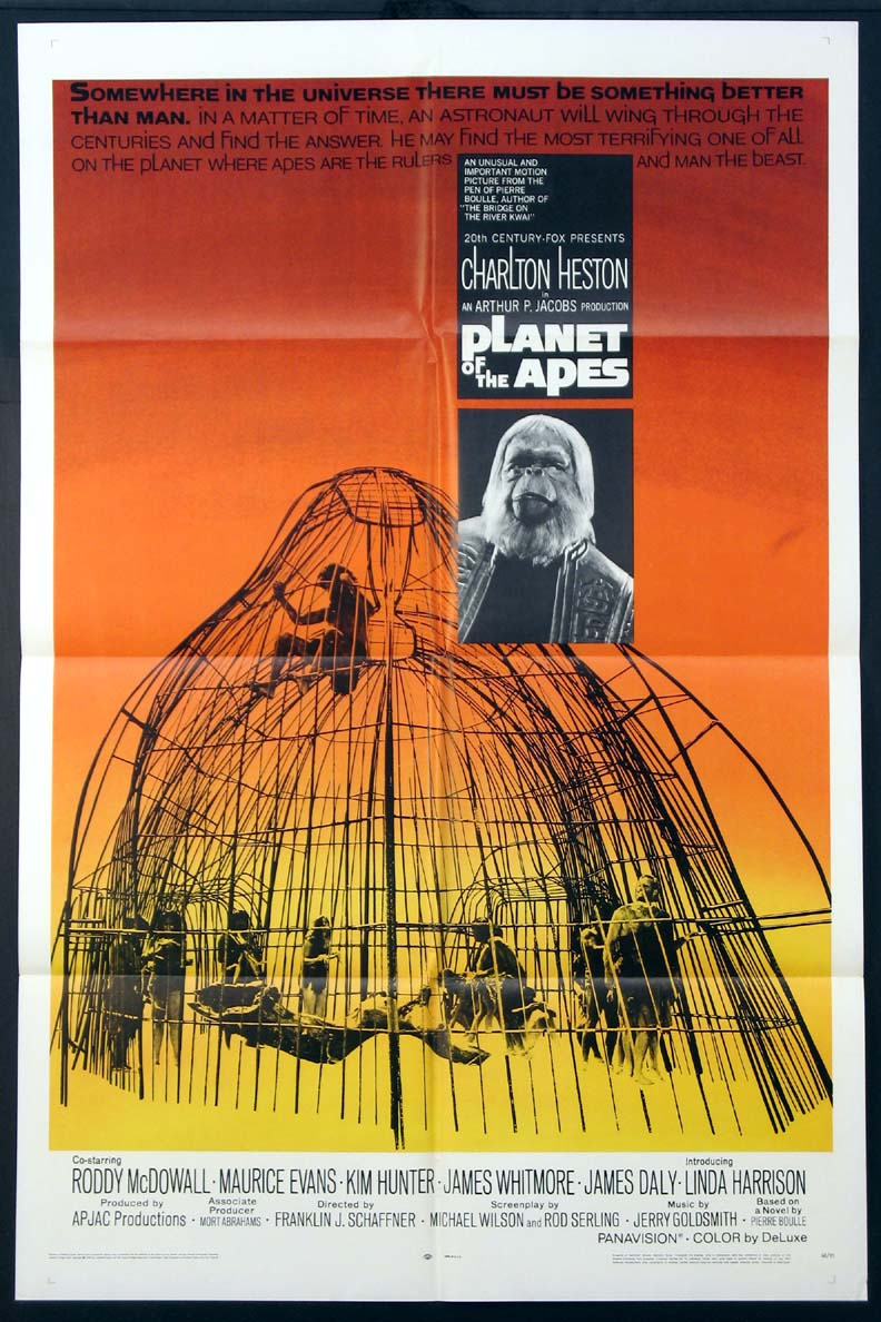 Of course, the original film really launched the Planet of the Apes franchise. What's your favorite Planet of the Apes franchise entry?