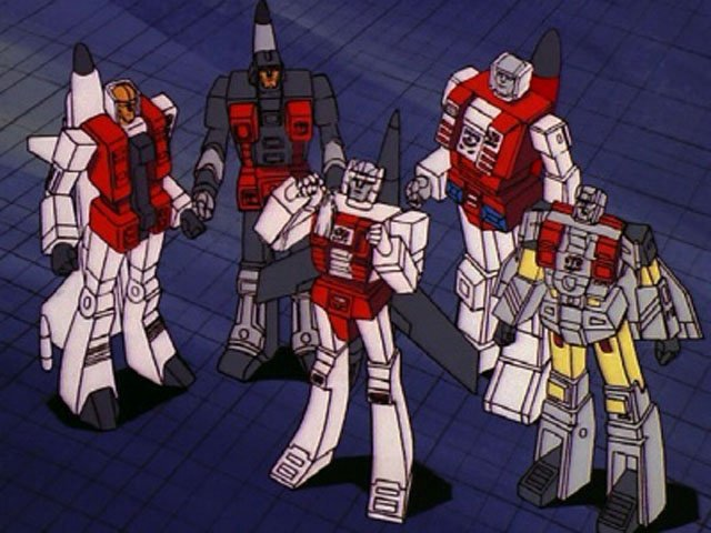 Aerialbots are among the Transformers characters we'd like to see on the big screen.