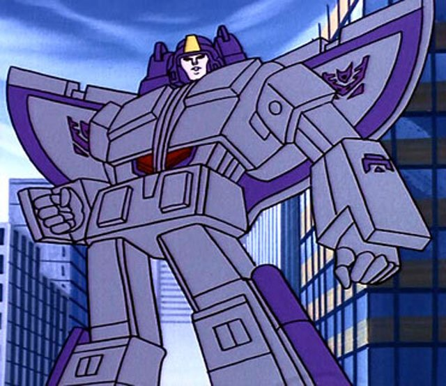 Astrotrain is another one of the best Transformers characters.