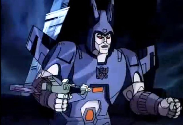 One of the Transformers characters that could appear on the big screen one day is Cyclonus.