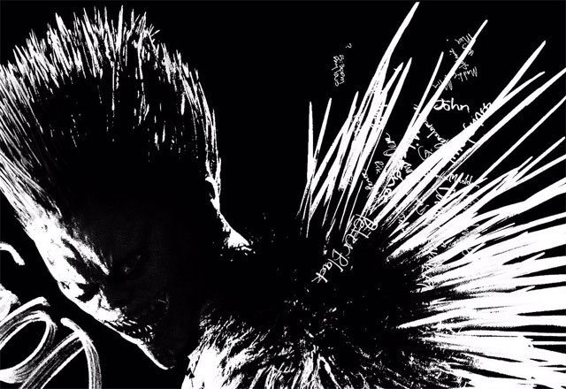 Ryuk Poster from Netflixs Death Note Movie – Death Note