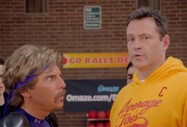 Dodgeball Reunion With Ben Stiller & Vince Vaughn for Omaze