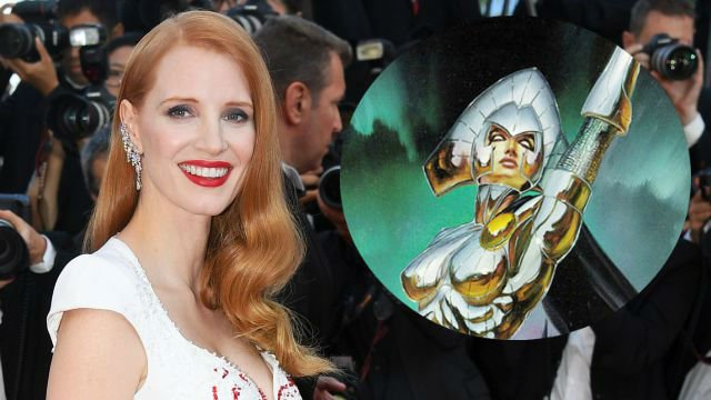 Jessica Chastain as an intergalactic empress just made 'X-Men' interesting again