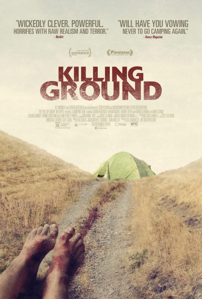 Exclusive Look at the Official Killing Ground Poster