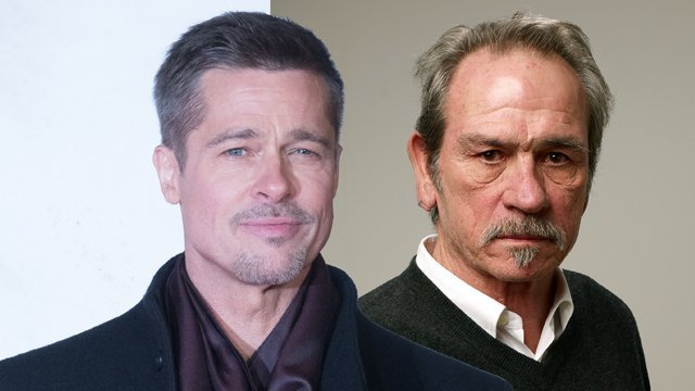 Brad Pitt & Tommy Lee Jones Are Teaming Up For