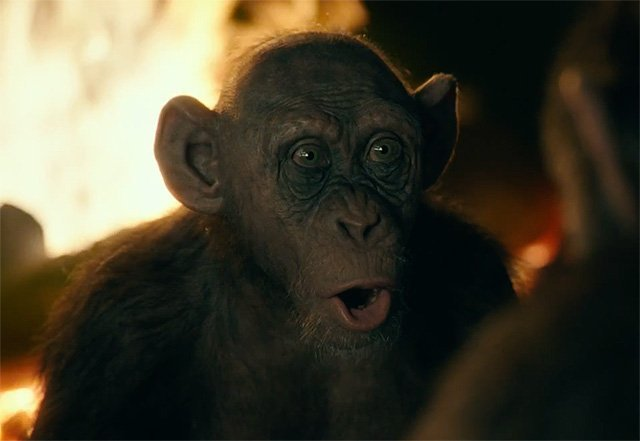 Meet Bad Ape in War for the Planet of the Apes Clip