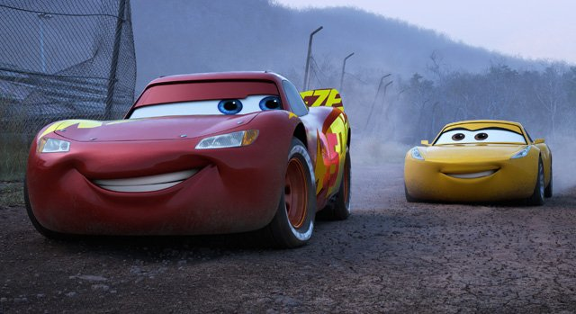 Three stars: Lightning McQueen gets back up to speed in 'Cars 3'