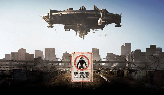Image result for district 9 movie poster