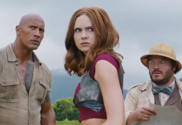 First Trailer for Jumanji: Welcome to the Jungle Premieres