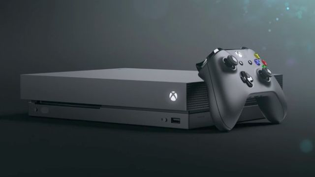 Microsoft unveils new gaming system as Xbox One X