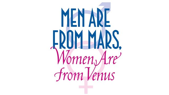 Legendary Plans Men Are From Mars, Women Are From Venus Movies