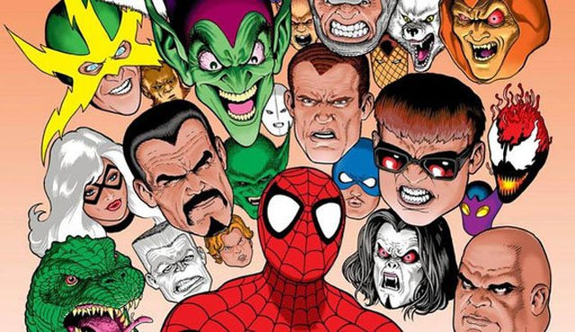 Spider-Man characters featured