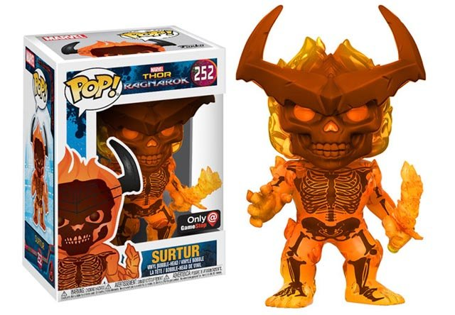 Thor: Ragnarok Pop Vinyls Give First Look at Surtur and More! Which of these Ragnarok pop vinyls is your favorite?