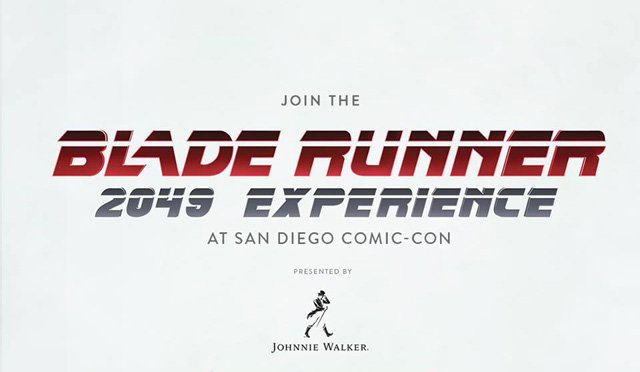 Blade Runner 2049 Experience Coming to Comic-Con