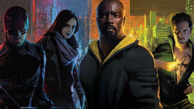 Marvel's The Defenders and The Punisher Comic-Con Posters