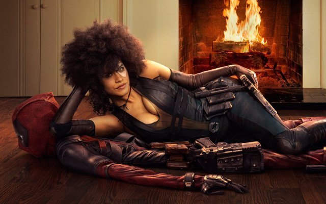 New Deadpool 2 Set Photos Featuring Zazie Beetz as Domino!