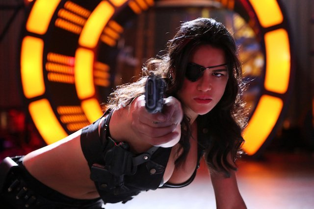 Michelle Rodriguez is another choice for ass-kicking women list.