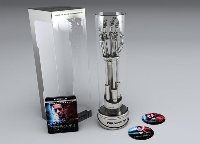 Terminator 2 4K Blu-ray Arriving in EndoArm Box Set