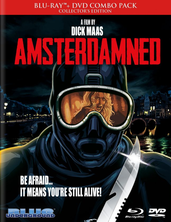 Dutch Slasher Amsterdamned Swims to Blu-ray