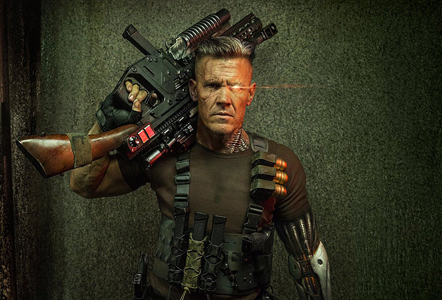 See Cable Set Photos With Josh Brolin From Deadpool 2