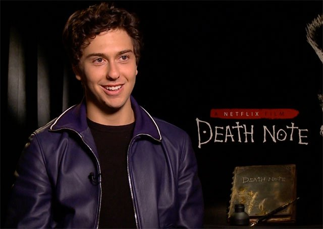 CS Video: Nat Wolff, Adam Wingard and the Death Note Cast