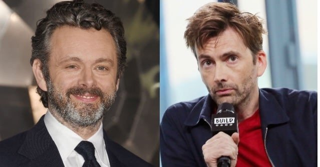 David Tennant and Michael Sheen cast in Neil Gaiman's Good Omens series