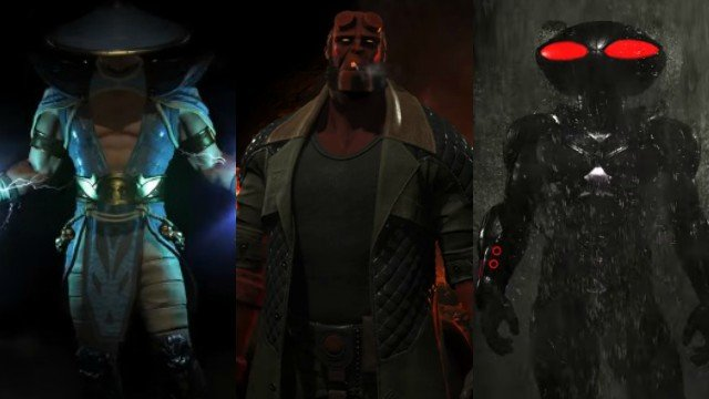 Injustice 2 Fighter Pack 2 Includes Black Manta, Raiden, and Hellboy!