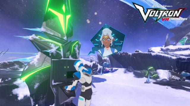 Check out the teaser trailer for Dreamworks Voltron VR Chronicles