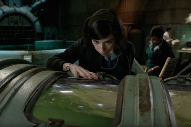 First Shape of Water Clip With Michael Shannon & Sally Hawkins