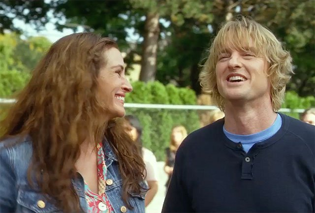 Julia Roberts and Owen Wilson in a New Wonder Trailer