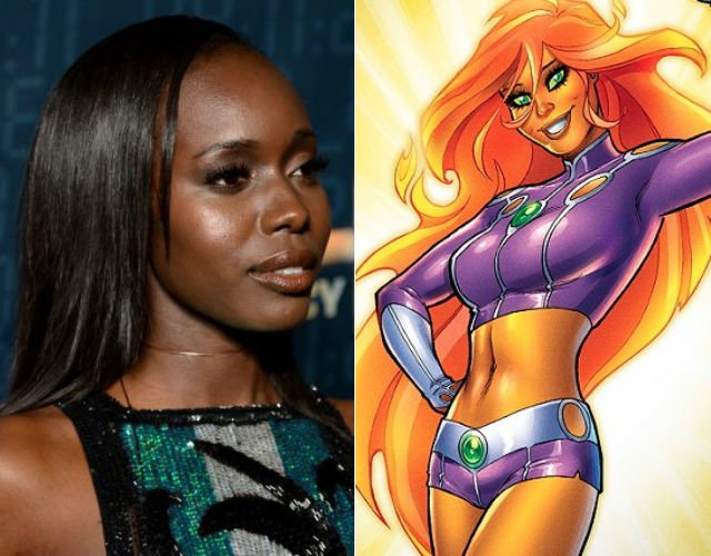 24: Legacy's Anna Diop cast as Starfire in the Teen Titans live-action series