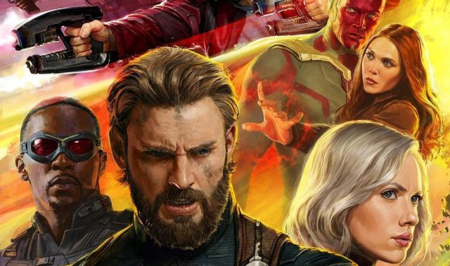 Avengers: Infinity War Standee Assembles Part of the Massive Cast