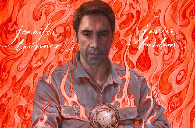 The Javier Bardem Poster for Darren Aronofsky's mother!