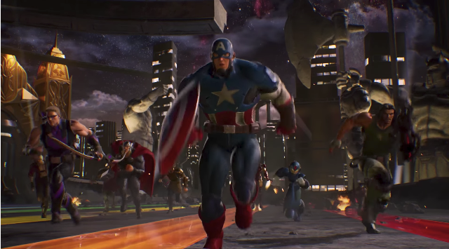 It's Civil War III in Marvel vs. Capcom: Infinite Story Trailer