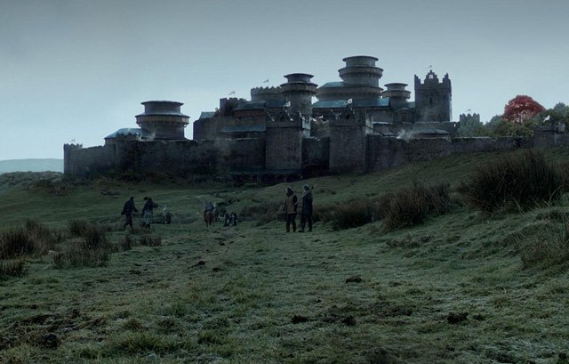Game of Thrones Map: Winterfell in Game of Thrones