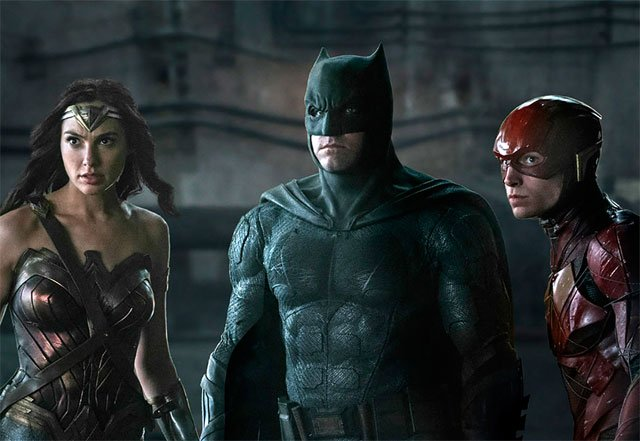 Flash, Wonder Woman and Batman in New Justice League Photo