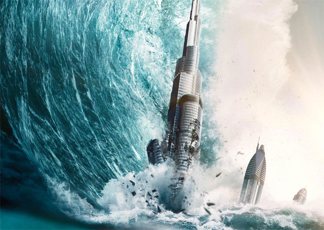 The Burj Khalifa Goes Down in New Geostorm Poster
