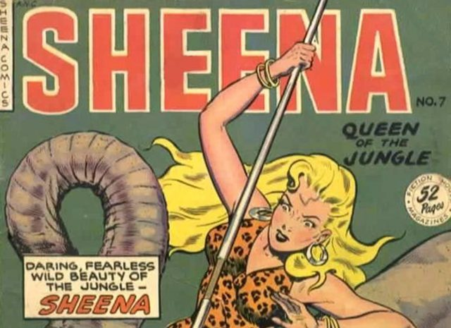 Millennium Films is rebooting Sheena Queen of the Jungle