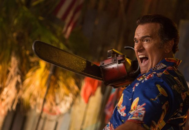 Interview: Bruce Campbell Says Season 3 of Ash vs. Evil Dead Raises the Stakes