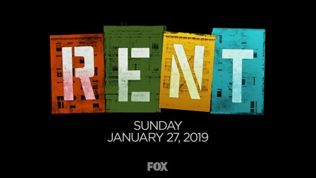 Live Musical Production of Rent to Air on January 27