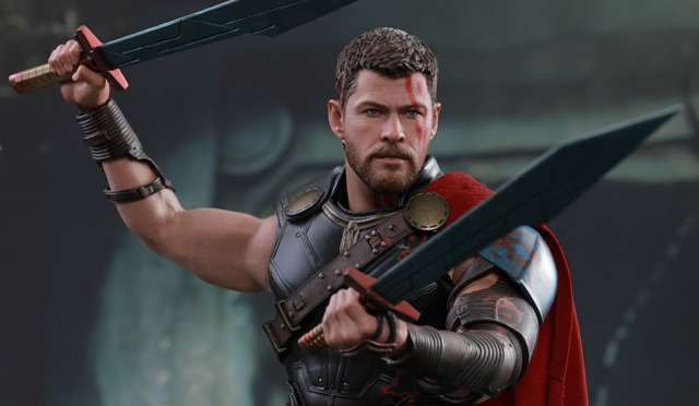 Gladiator Thor Collectible Figure Revealed for Ragnarok
