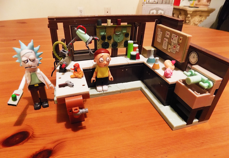 McFarlane Rick and Morty Construction Sets Unboxing Gallery