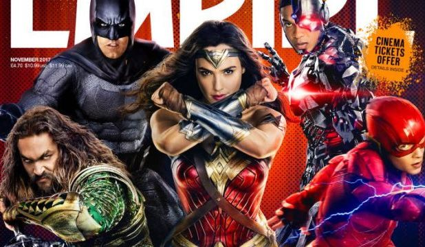 Justice League Empire Cover Brings the Team Together