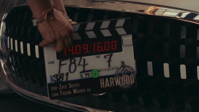 Mercedes-Benz Justice League Promo Offers BTS Look at Filming