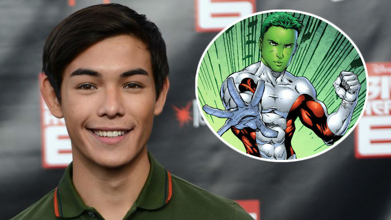 Ryan Potter is Beast Boy in Titans Live-Action Series