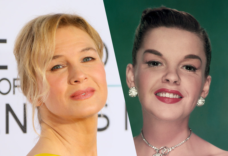 Renee Zellweger to portray Judy Garland in Rupert Goold's film