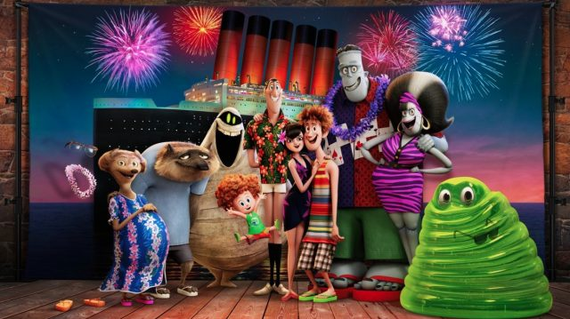 Check out the first look at the Drac pack in Hotel Transylvania 3