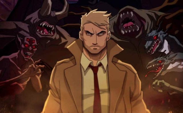 Check out the new poster for CW Seed's Constantine animated series
