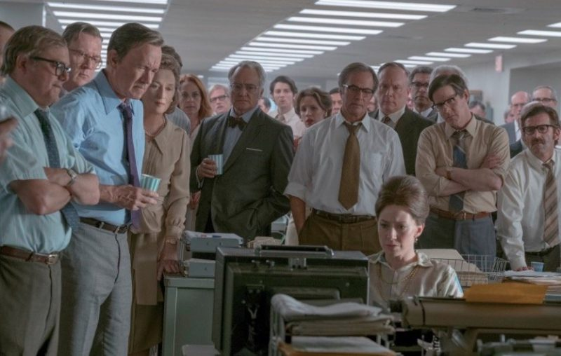 Check out the first official image from Steven Spielberg's The Post
