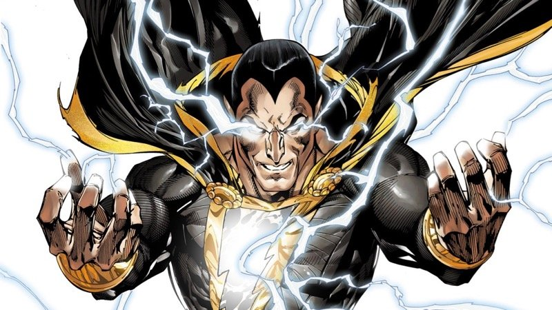 Undateable Creator to Script Black Adam Movie